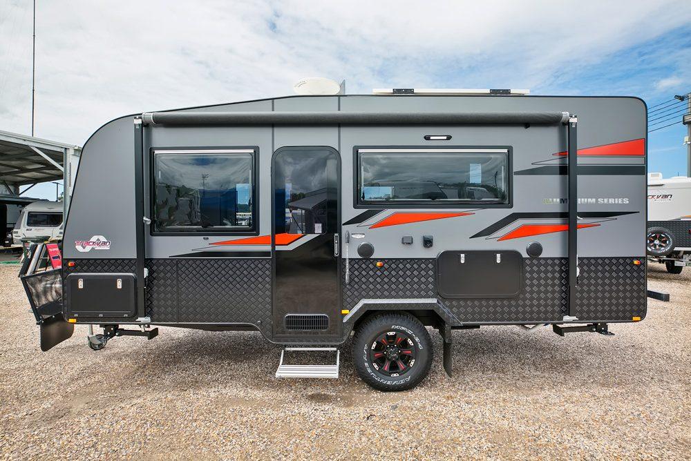 Trackvan by Millennium Caravans - Exterior