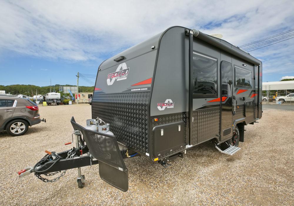 Trackvan by Millennium Caravans - Exterior Front Angle