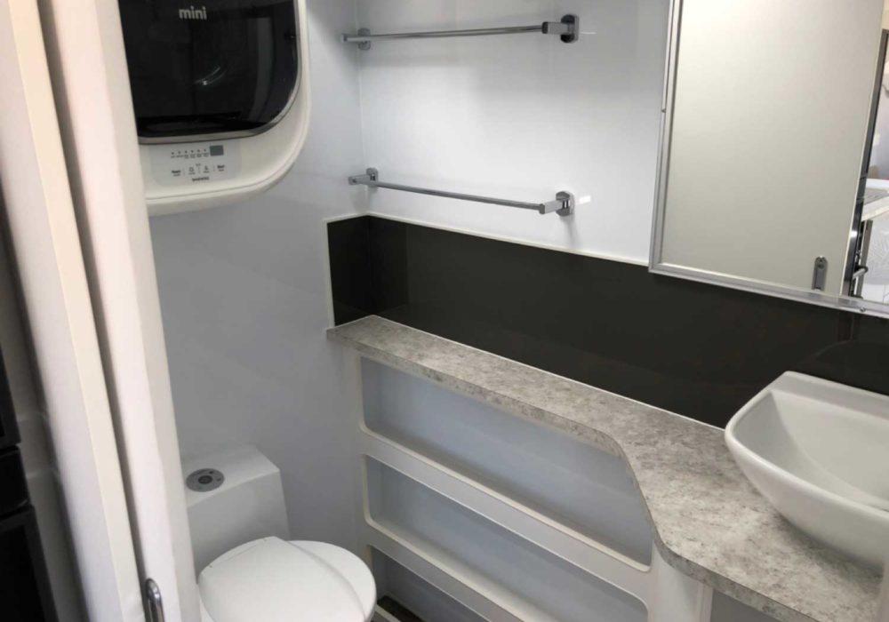 Trackvan by Millennium Caravans - Bathroom