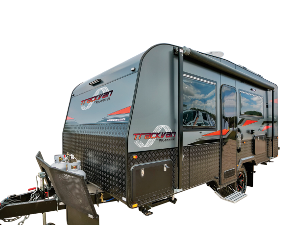 Trackvan by Millennium Caravans - Caravan on Transparent Background